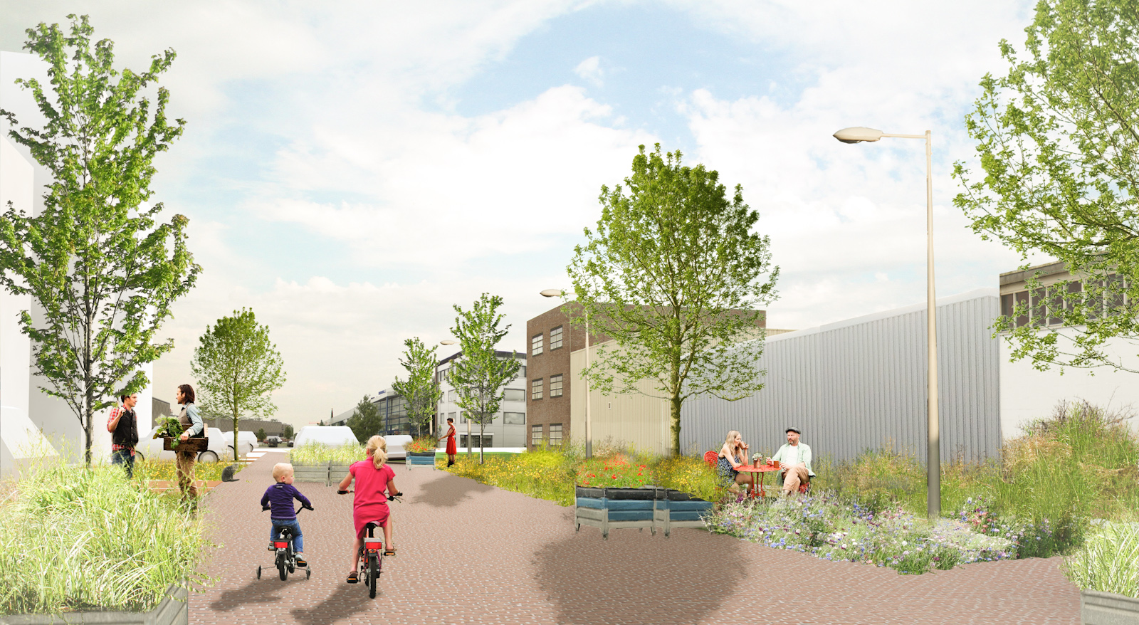 Ontwerp voor de straat for 3d ruimte ontwerpen