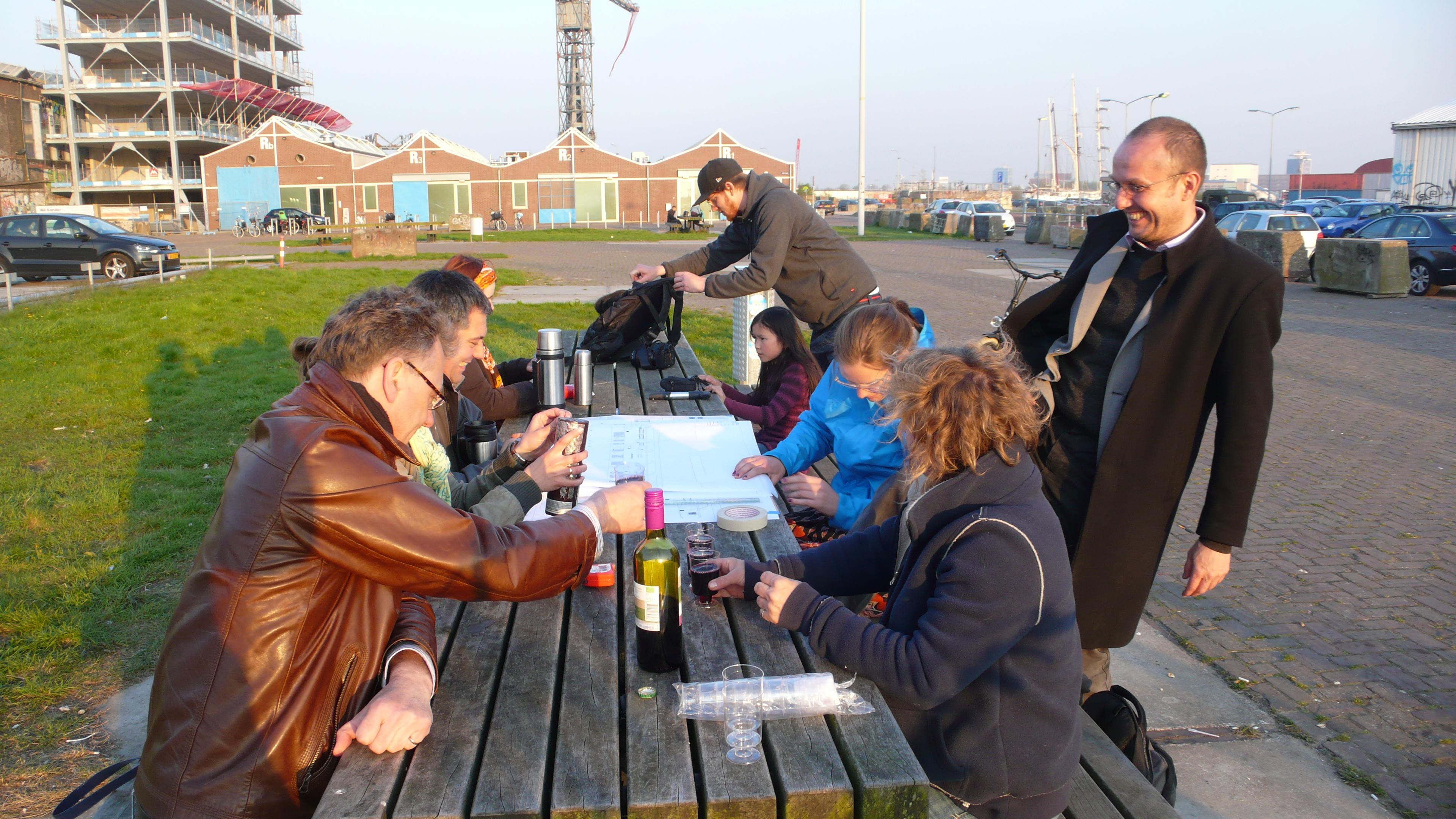 De bosrankstraat, amsterdam noord: zelf bouwen, maar ook een ...